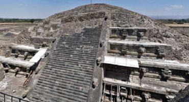 Encuentran mercurio en pirámide de Teotihuacán