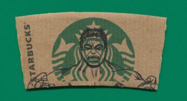 Las mangas de Starbucks, como arte pop