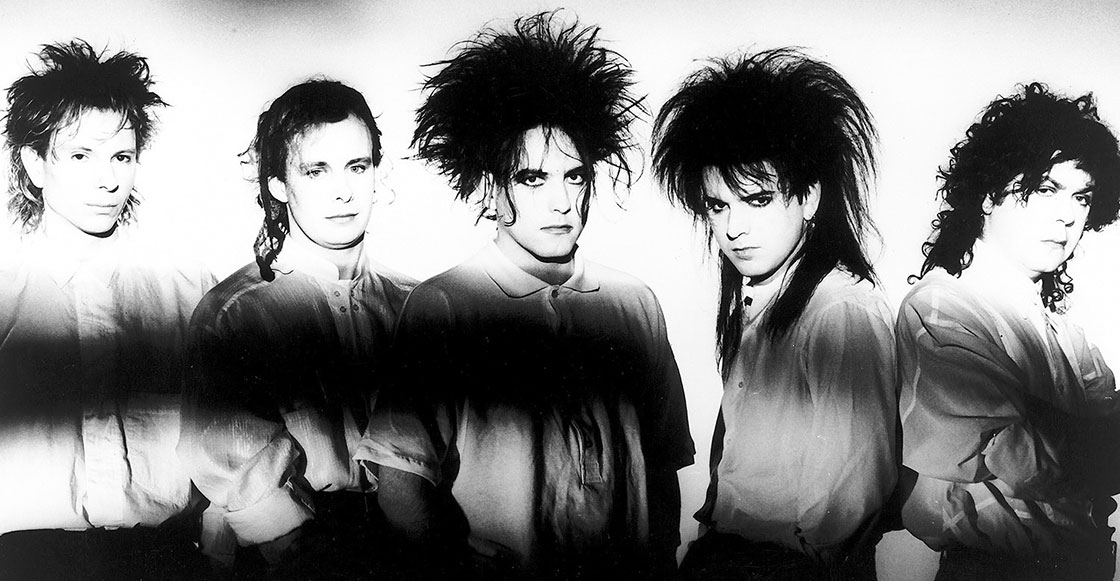 13 datos y un playlist sobre Robert Smith de The Cure