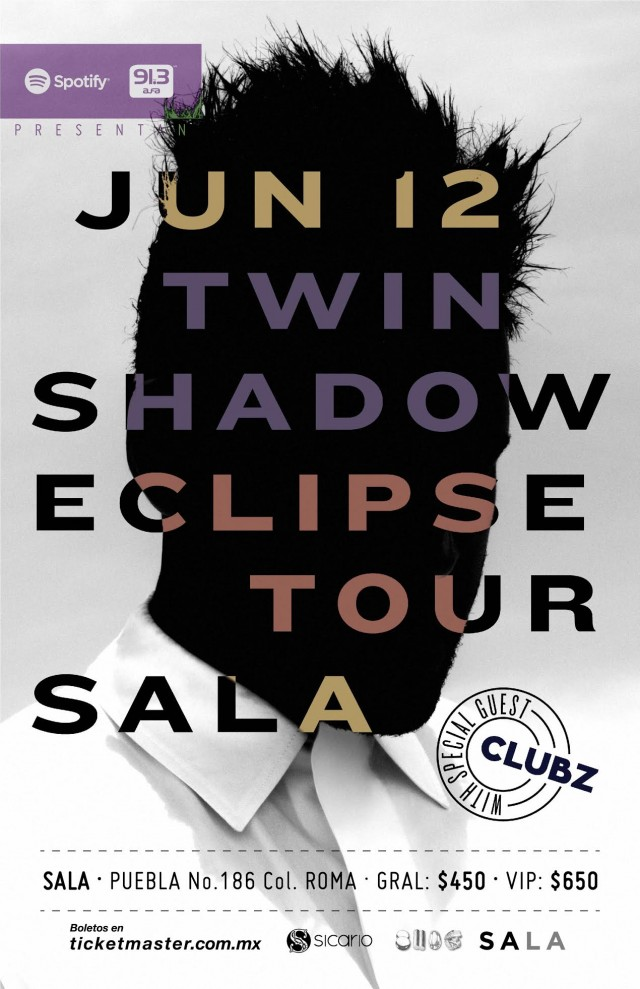 Twin Shadow en México