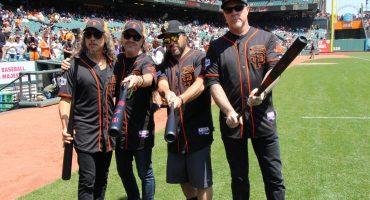 Así celebró Metallica su día anual con los San Francisco Giants en su estadio