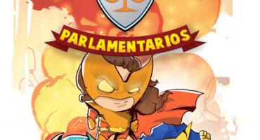 Los Súper Parlamentarios: el comic que quiere frenar el descrédito de Legisladores