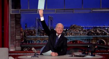 Así fue la despedida de David Letterman del