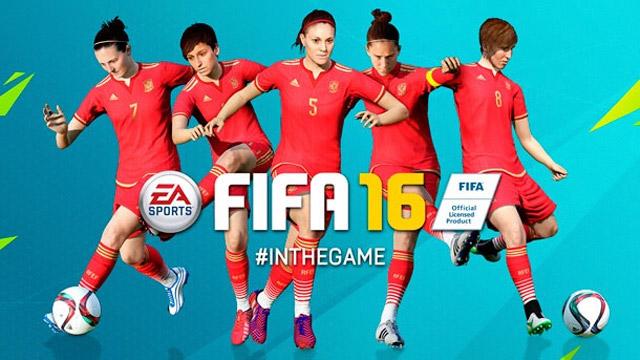El fútbol femenil llega a FIFA 16