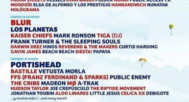 Se nos va Little Jesus a tocar con Blur, Noel Gallagher y Portishead en el Festival de Benicàssim