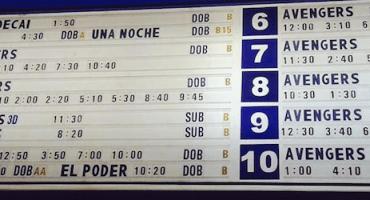 Avengers y la polémica por tener acaparadas las salas de cine