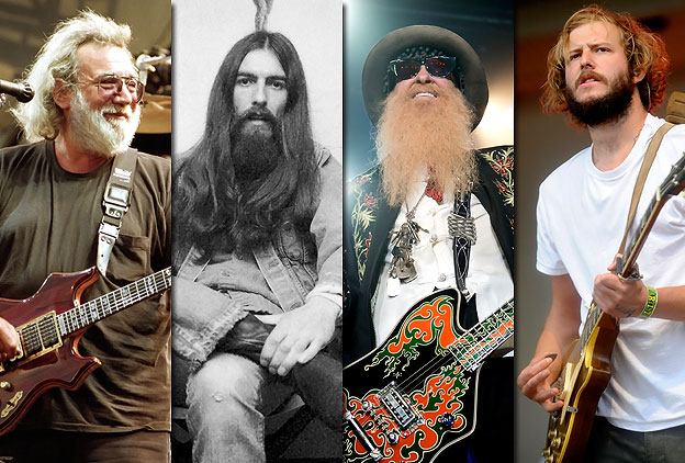 Las mejores barbas del Rock