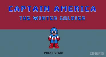 Captain America: The Winter Soldier, en 8 bits
