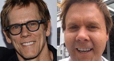¿¡Pero qué diablos le pasó al rostro de Kevin Bacon?!
