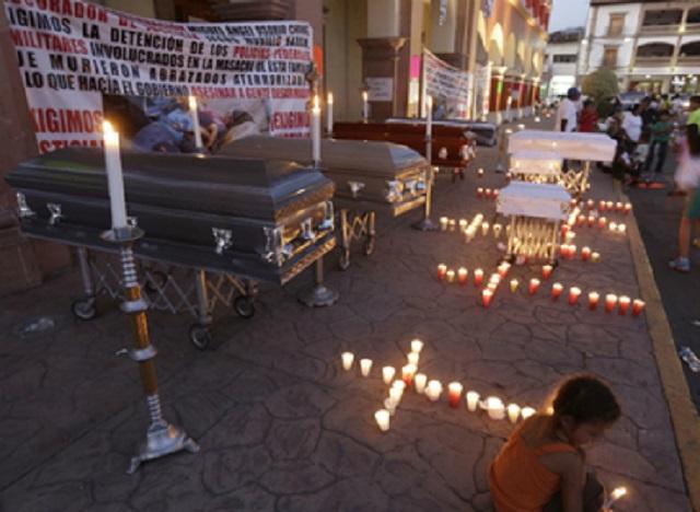 El ejército también participó en la masacre de Apatzingán