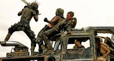 """Así filmaron algunas escenas de """"Mad Max: Fury Road"""""""