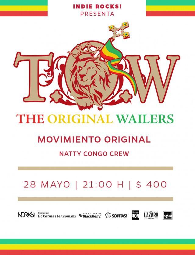 ¿Quieres ver a The Original Wailers este jueves? ¡Nosotros te llevamos!