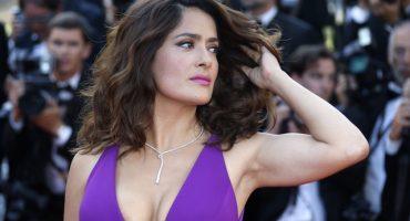 De México para el mundo: El escote de Salma Hayek en Cannes