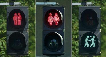 Los semáforos gay llegan a Viena