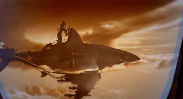 Sky Sharks: La película sobre zombis nazis que montan tiburones mutantes voladores