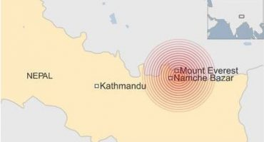Nuevo terremoto azota Nepal, 7.3 grados de magnitud