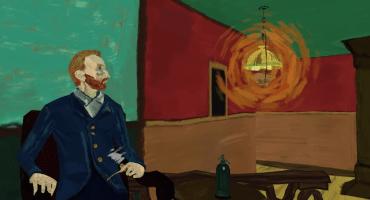 Así se siente estar dentro de una pintura de Van Gogh