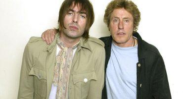 Ve a Liam Gallagher y Roger Daltrey cantar