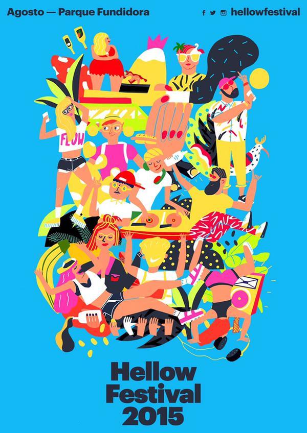 ¡Ya está el cartel del Hellow Fest 2015!