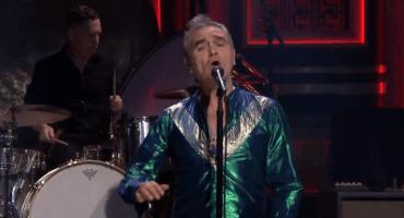Ve el regreso de Morrissey a la televisión norteamericana con