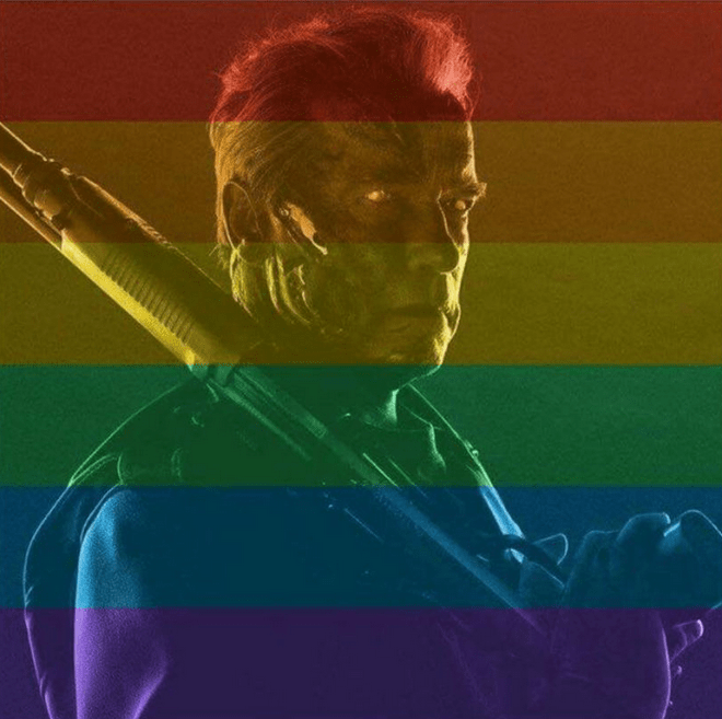 A fan no le gustó que Arnie apoye matrimonios gay... y actor responde