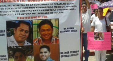 Confirman con ADN identidad de los doctores y abogado desaparecidos en Guerrero