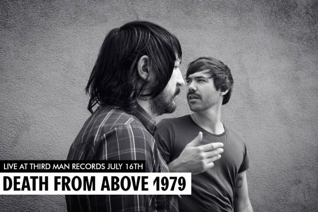 Death From Above 1979 grabará disco en vivo en el estudio de Jack White #CC15