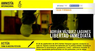 Exijamos la libertad inmediata de Adrián #nosoymachoprieto