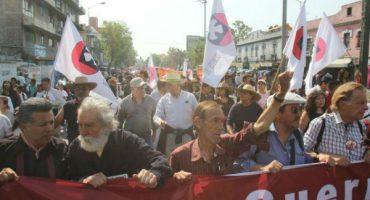 Marchan recordando el 44 aniversario del halconazo #10JunioNoSeOlvida