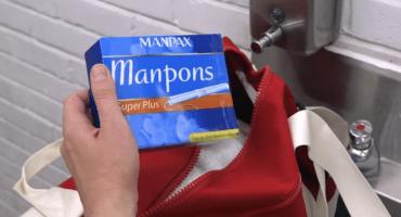 ¿Y si los hombres usaran tampones?
