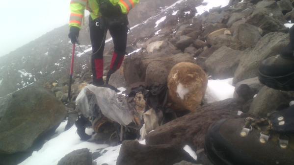 Encuentran otra momia en el Pico de Orizaba