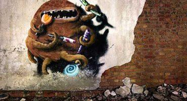 Montzer: Los increíbles graffitis de monstruos en Berlín