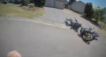 Ladrón de moto descubre que el crimen no paga