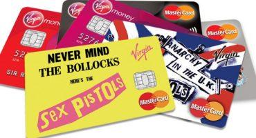 Virgin lanza tarjetas de crédito de los Sex Pistols