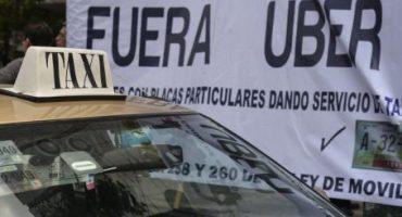 Taxistas anuncian plan de