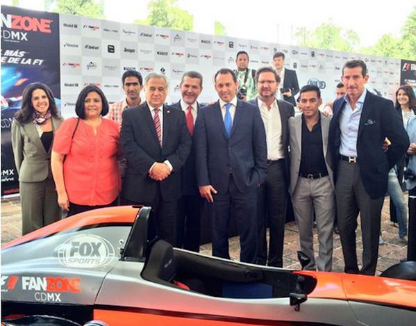 Habrá Fan Zone de F1 en el Bosque de Chapultepec