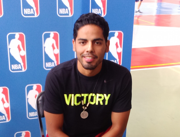 Aquí nuestra plática con Jorge Gutiérrez, único mexicano en la NBA