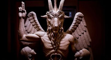 La estatua satánica de Detroit