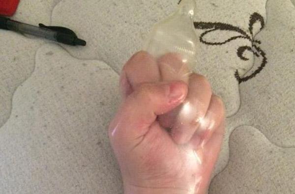 ¿Por qué la foto de este condón se volvió viral?