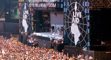 A 30 años de Live Aid y el Día Mundial del Rock
