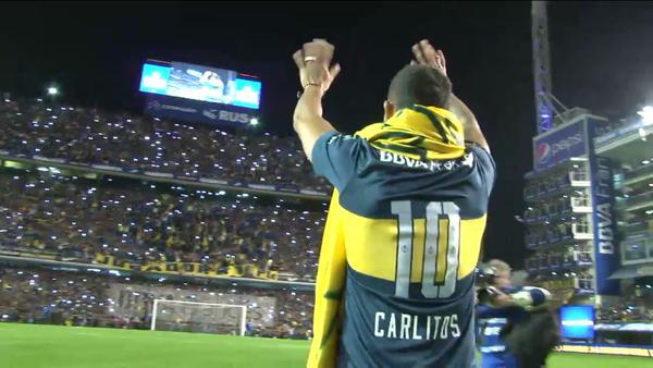 Carlos Tévez fue presentado por Boca Juniors