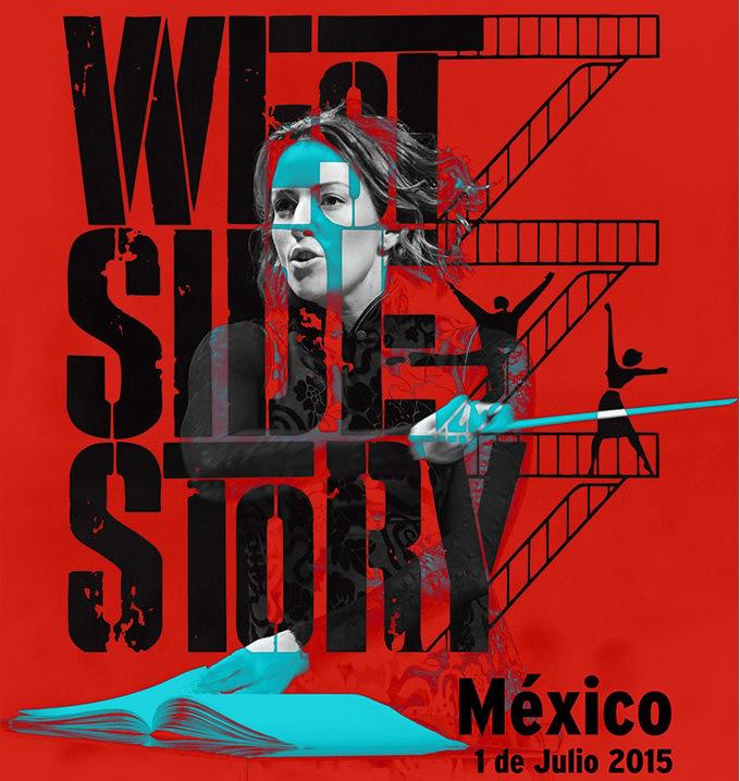 Alondra de la Parra musicaliza 'West Side Story' por Hombre Gratis