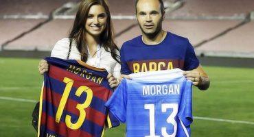 Encuentro de cracks: Andrés Iniesta y... ¡¡Alex Morgan!!