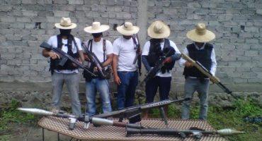 """""""Los Blancos de Troya"""", surge nueva autodefensa en Apatzingán"""