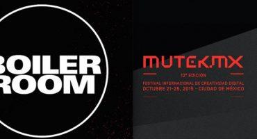 Boiler Room une fuerzas con MUTEK.MX