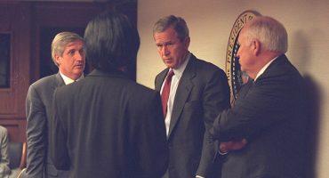 Desclasifican fotografías: así reaccionó la Casa Blanca el 9/11