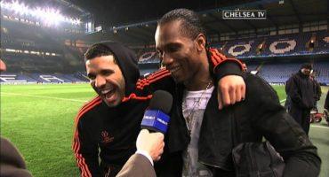 ¡Drake le anota gol a Drogba!