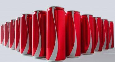 ¿Coca-Cola quita el logo de sus latas?