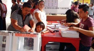 Con varios incidentes, se realiza proceso electoral en Chiapas