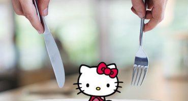 Hotel y desayuno al estilo Hello Kitty